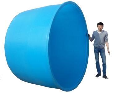 Пластиковые бассейны для дачи своими руками 121